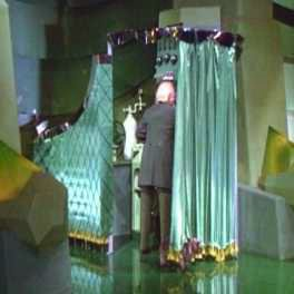 Der Mann hinter dem Vorhang